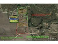55 Acre portion $4800/Acre or $264,000 (Note: this