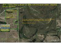 Scott Co. 115.5 Acre parcel: Split option A: North 60
