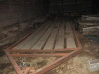 28FT Donahue Implement Trailer, Good Floor, $1,000  //