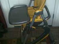Dondolino Prima Pappa High chair, yellow and gray,