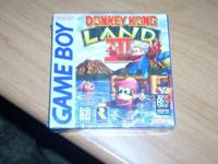 Donkey Kong Land 3 on the GameBoy, brand new and sealed