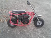 Selling a Doodle Bug Mini Bike ,this has a New 212 cc