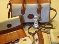 Dooney & Bourke all weather leather handbag with