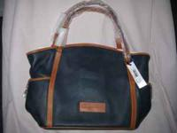 New Dooney & Bourke leather tote with tags. Medium