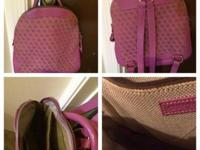 "DOONEY and BOURKE backpack purse 11"" x 11"". No rips or"