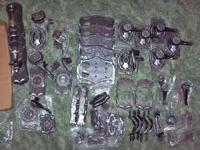 Selling this lot of black and gray hardware. All in