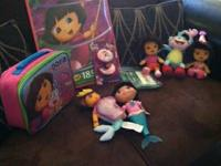 This lot has all kinds of Dora items - you can buy the