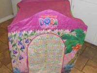 Dora Tent comes with attachment tunnel! Email or Call