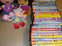 This is the ultimate Dora the Explorer DVD collection.