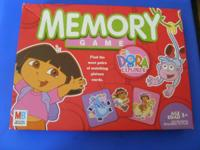 One previously owned, complete Dora the Explorer memory