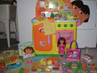 Cute Dora Talking Cooking area Great deal with Meals