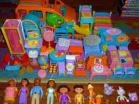 Dora house with all people and twins add on room and