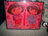 DORA THE EXPLORER WALL DECOR ...........$10 C/U DORA