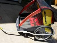 I have a double bike trailer for sale good shape ready