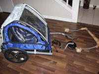 InStep Take @ Bicycle trailer with Jogging stroller