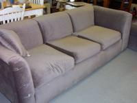 Available is a double couch sectional. Can be long