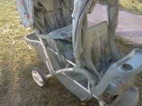 Double graco stroller used just a couple of times