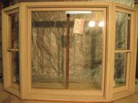 """UNFINISHED,UNPAINTED, DOUBLE HUNG BAY WINDOW. 7' 9"""""""
