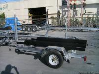 2013 BRAND-NEW ALL AMERICAN DOUBLE JET SKI TRAILER.