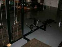 Twin position Lat machine with two independant 250#