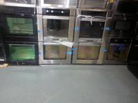 we have an excellent option of double ovens for sell