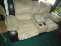 I have a double set of recliners - couch Minor wear  I