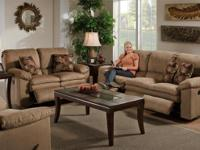 Double Reclining Sofa Or Loveseat From Columbus Ohio.