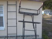 I have a bass pro shop 16 ft double seated tree stand!