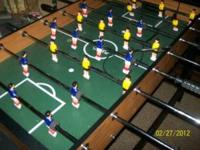 I have a double sided foosball one side is foosball the