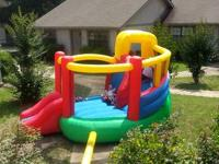 Need a bounce house for your wedding. Rent this double