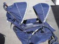 I have a nice double stroller its a kolcraft lil limo