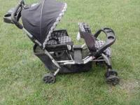 Selling a double stroller, no longer have use for it