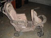 Double stroller asking 30.00 obo call  Location: