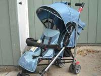 Double stroller. Safety first . Excellent shape.  or