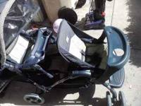 double stroller in good condition $45 comes from home