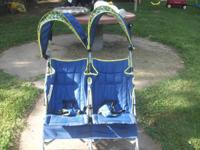 I have a nice double umbrella stroller from Babies R Us