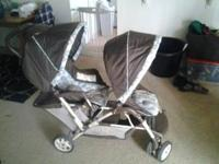 Double stroller in good condition. 50 dollars obo