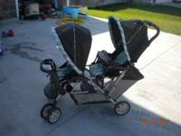 I have a almost new double baby stroller. I have only