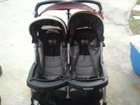Double stroller in great condition and working great.