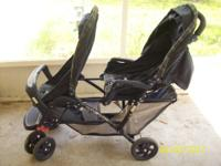 I have a blue and green graco duo glider double