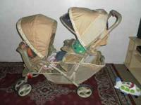 STROLLER GRACO, DOUBLE THE COLOR ITS BEIGE, IF YOU ARE