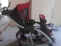 This is a graco double stroller, great condition!!