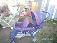 i have a double stroller im asking $50 for.......i also