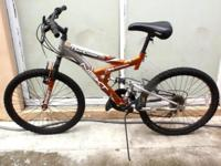"Double suspension Mountain Bike 24"", Next Power"