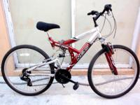 "DOUBLE SUSPENSION MOUNTAIN BIKE, 26"", ""NEXT POWER X"","
