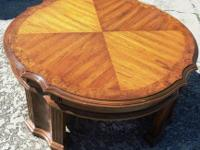 Here's a really nice set of coffee tables that would