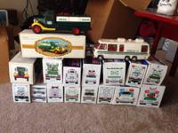 Providing entire youth Hess Truck Collection. From 1980