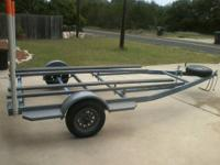 About the most significant double steel PWC trailer you