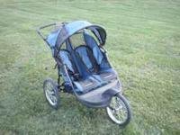 Baby Trend Jogging Double Stroller $90 CASH  Location: