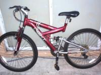 "DOUBLE SUSPENSION MOUNTAIN BIKE, 26"", ""NEXT POWER"